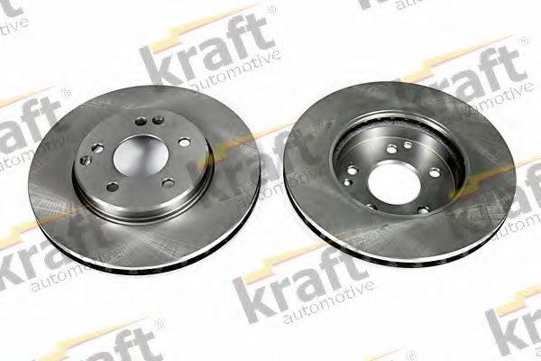 Тормозной диск KRAFT AUTOMOTIVE 6041170