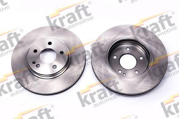 Тормозной диск KRAFT AUTOMOTIVE 6041180