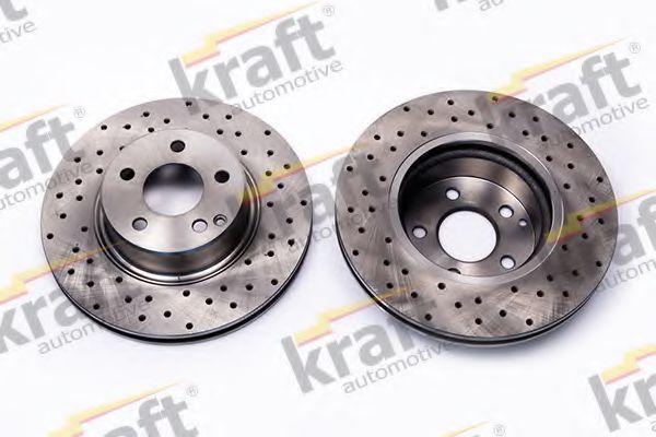 Тормозной диск KRAFT AUTOMOTIVE 6041270