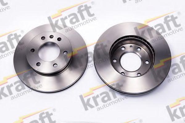 Тормозной диск KRAFT AUTOMOTIVE 6041414