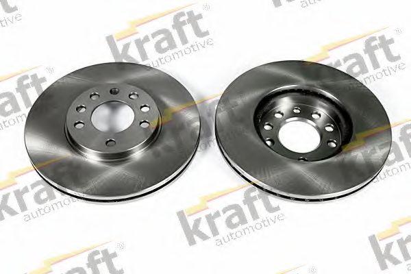 Тормозной диск KRAFT AUTOMOTIVE 6041541