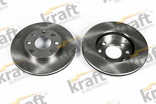 Тормозной диск KRAFT AUTOMOTIVE 6041560