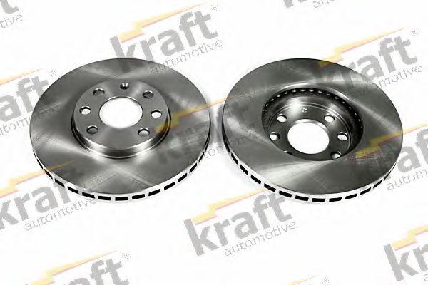 Тормозной диск KRAFT AUTOMOTIVE 6041650
