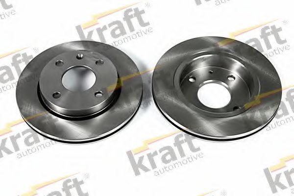 Тормозной диск KRAFT AUTOMOTIVE 6042100