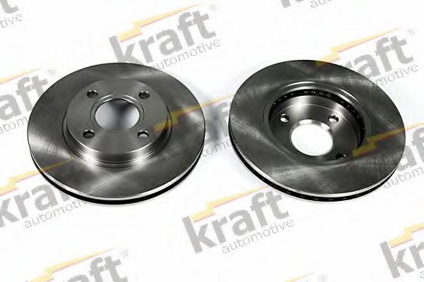 Тормозной диск KRAFT AUTOMOTIVE 6042120