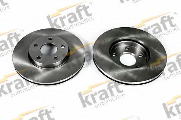 Тормозной диск KRAFT AUTOMOTIVE 6042206