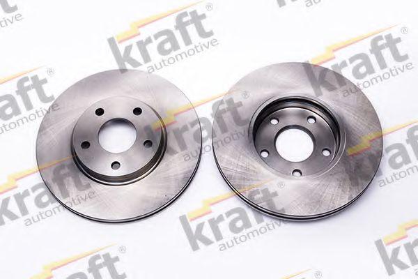 Тормозной диск KRAFT AUTOMOTIVE 6042370