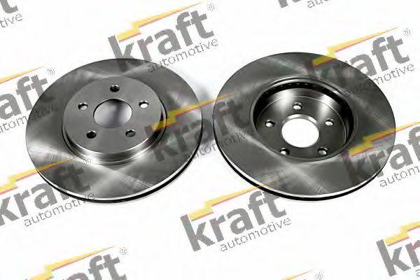 Тормозной диск KRAFT AUTOMOTIVE 6042590