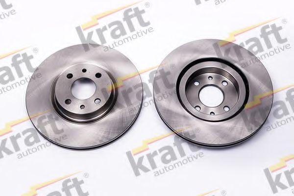 Тормозной диск KRAFT AUTOMOTIVE 6043150