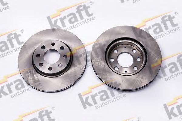 Тормозной диск KRAFT AUTOMOTIVE 6043170