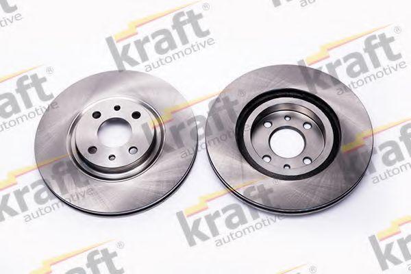 Тормозной диск KRAFT AUTOMOTIVE 6043220