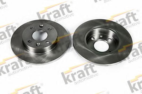 Тормозной диск KRAFT AUTOMOTIVE 6045030
