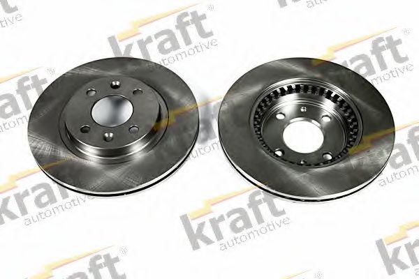 Тормозной диск KRAFT AUTOMOTIVE 6045070