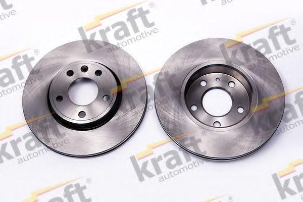 Тормозной диск KRAFT AUTOMOTIVE 6045430