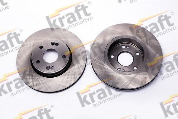 Тормозной диск KRAFT AUTOMOTIVE 6045450