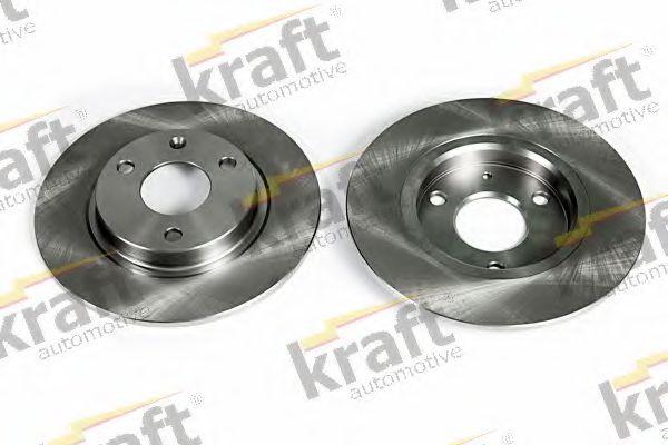 Тормозной диск KRAFT AUTOMOTIVE 6045530