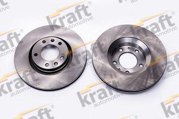 Тормозной диск KRAFT AUTOMOTIVE 6045580