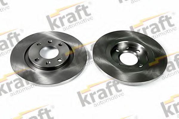 Тормозной диск KRAFT AUTOMOTIVE 6045785