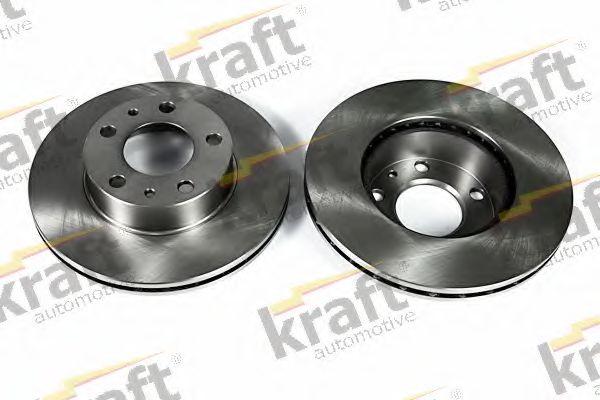 Тормозной диск KRAFT AUTOMOTIVE 6045810