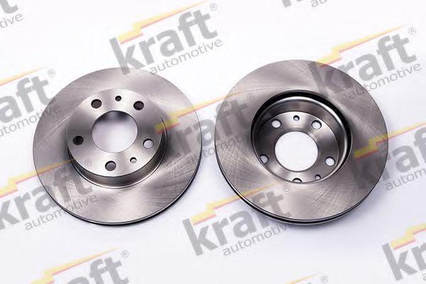 Тормозной диск KRAFT AUTOMOTIVE 6045909