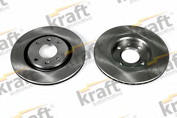 Тормозной диск KRAFT AUTOMOTIVE 6045920