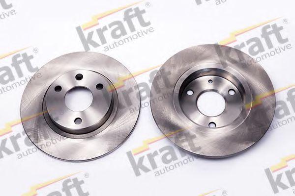 Тормозной диск KRAFT AUTOMOTIVE 6045950