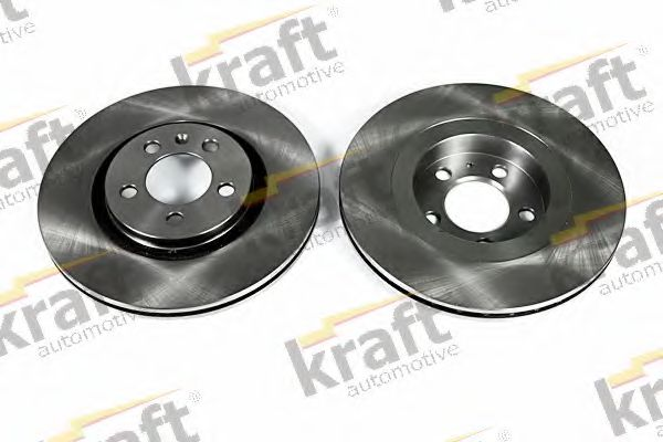 Тормозной диск KRAFT AUTOMOTIVE 6046510