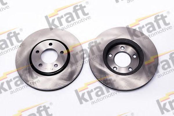 Тормозной диск KRAFT AUTOMOTIVE 6048570