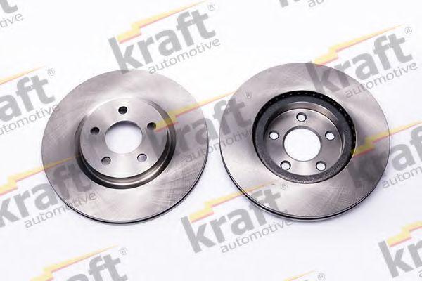 Тормозной диск KRAFT AUTOMOTIVE 6048580