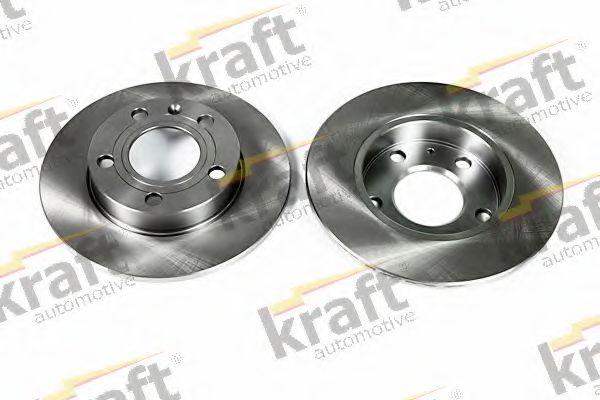 Тормозной диск KRAFT AUTOMOTIVE 6050190