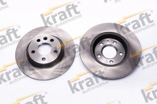 Тормозной диск KRAFT AUTOMOTIVE 6050510