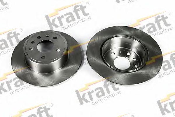 Тормозной диск KRAFT AUTOMOTIVE 6051550