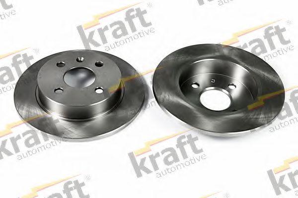 Тормозной диск KRAFT AUTOMOTIVE 6051560