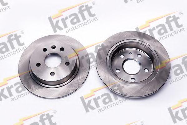 Тормозной диск KRAFT AUTOMOTIVE 6051653