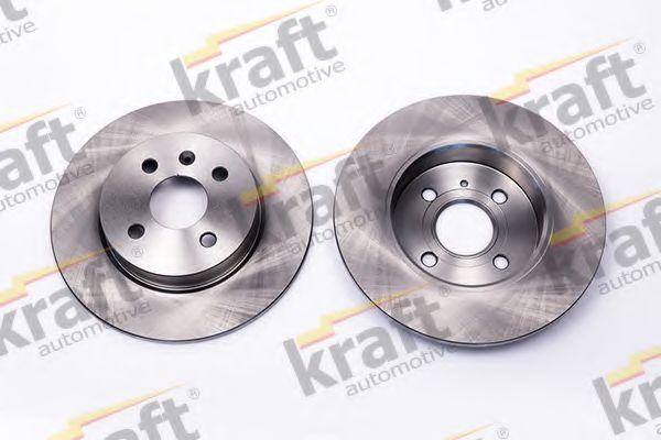 Тормозной диск KRAFT AUTOMOTIVE 6051660