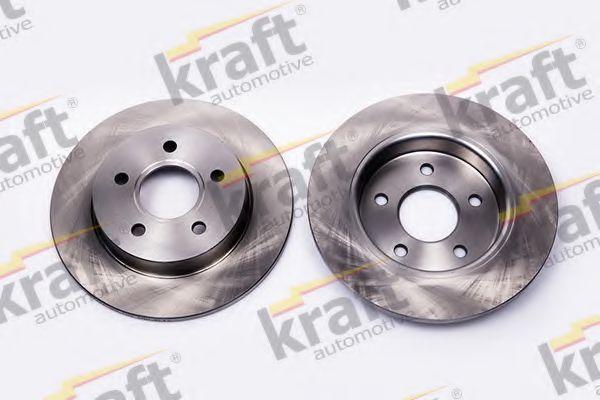 Тормозной диск KRAFT AUTOMOTIVE 6052204