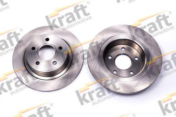 Тормозной диск KRAFT AUTOMOTIVE 6052210