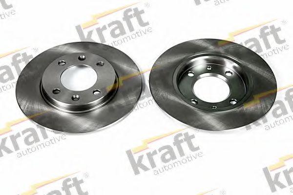 Тормозной диск KRAFT AUTOMOTIVE 6055540
