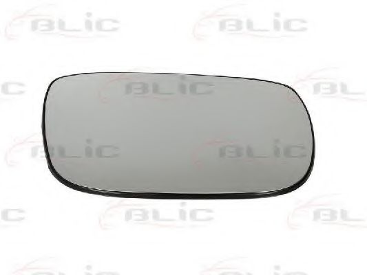 Стекло зеркала заднего вида BLIC 6102-02-1231227