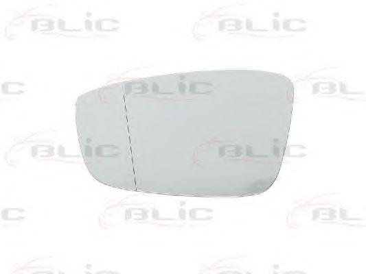 Стекло зеркала заднего вида BLIC 6102-02-1271123P