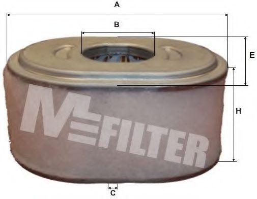 Воздушный фильтр MFILTER A 8015