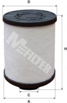 Топливный фильтр MFILTER DE 3118