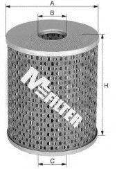 Топливный фильтр MFILTER DE 688