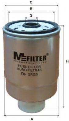 Топливный фильтр MFILTER DF 3509