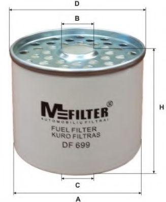 Топливный фильтр MFILTER DF 699