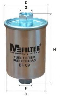 Топливный фильтр MFILTER BF 09
