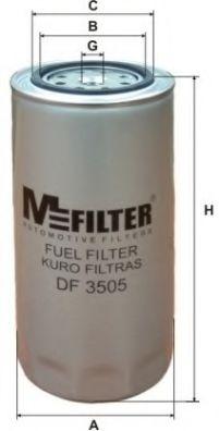 Топливный фильтр MFILTER DF 3505