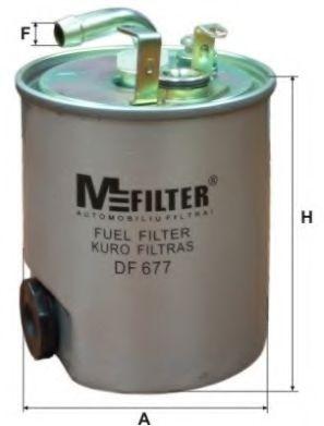 Топливный фильтр MFILTER DF 677