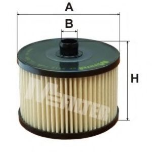 Топливный фильтр MFILTER DE 3116