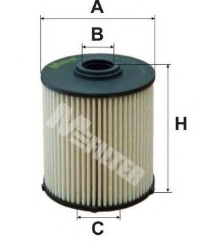 Топливный фильтр MFILTER DE 3120